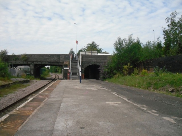 Reddish South station platform