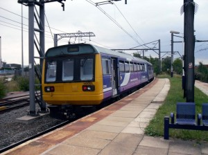 Photo of a Northern Rail train at Ardwick station