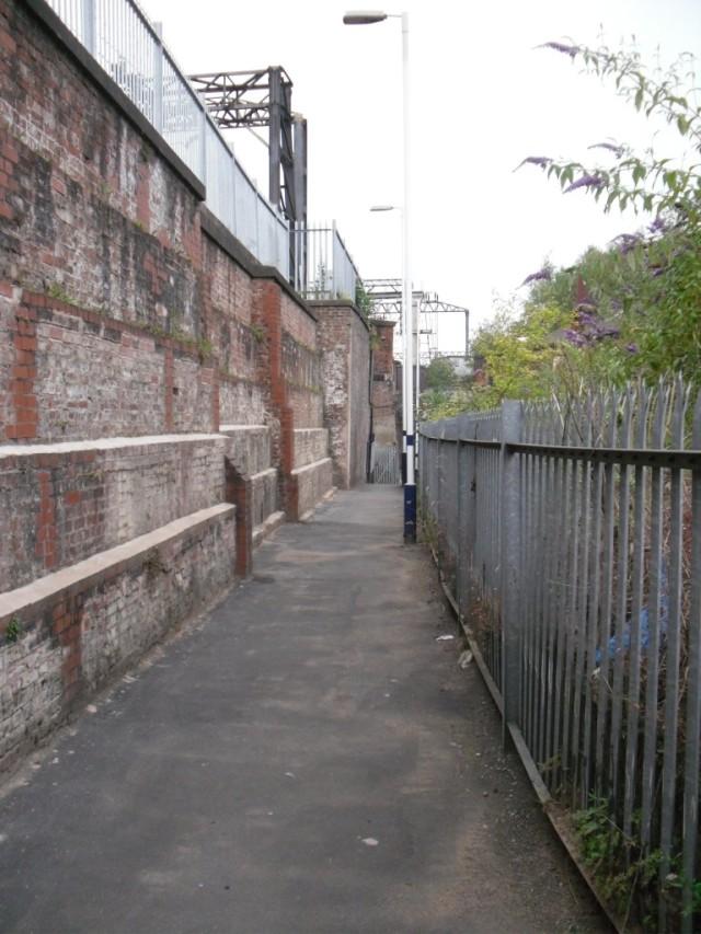 Ardwick station entrance