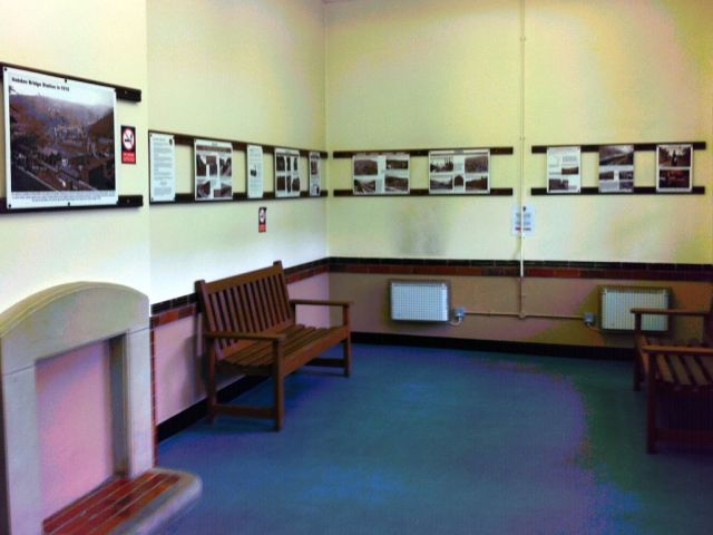 Photo of Hebden Bridge waiting room