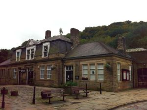 Photo of Hebden Bridge station building