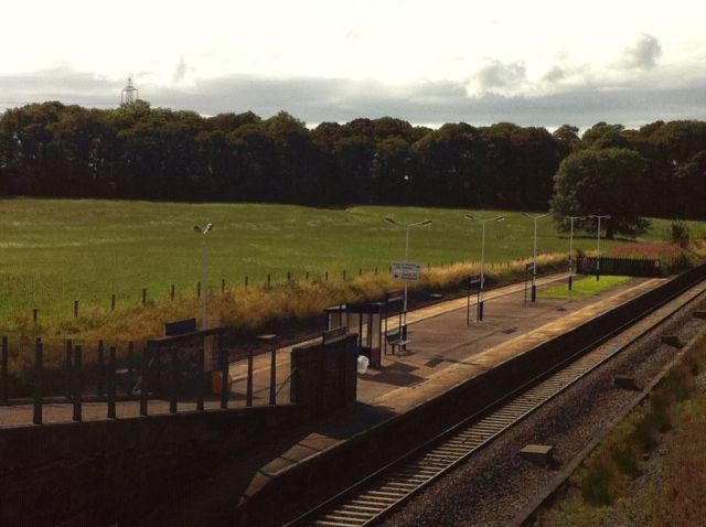 Photo of Salwick station