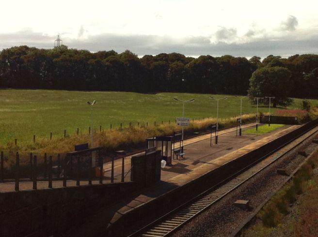 Photo of Salwick station