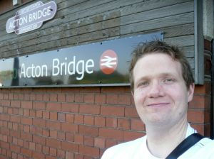 Photo of Robert at Acton Bridge