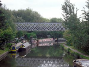 Photo of Grand Union Canal with Railway Bridge