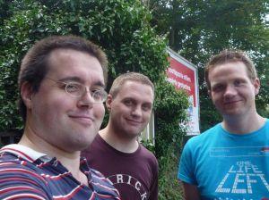 Photo of Scott, Ian and Robert