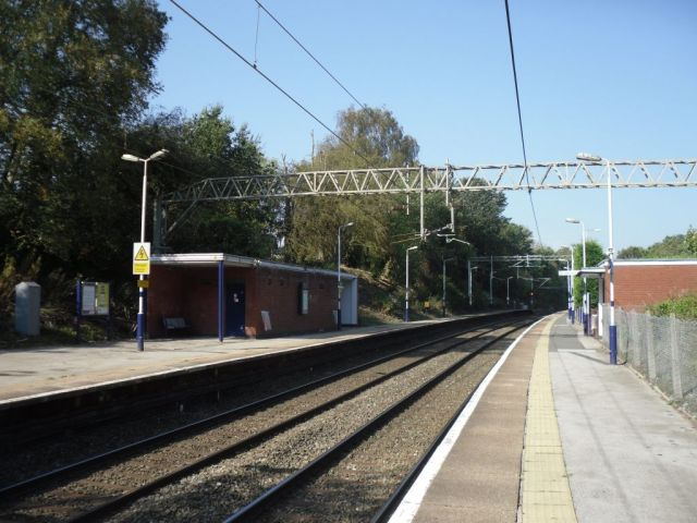 General view of Styal station