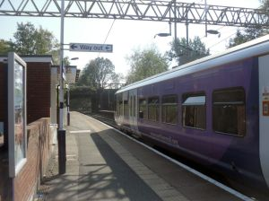 Photo of Class 323 EMU at Styal station