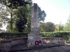 Photo of War Memorial in Styal Village