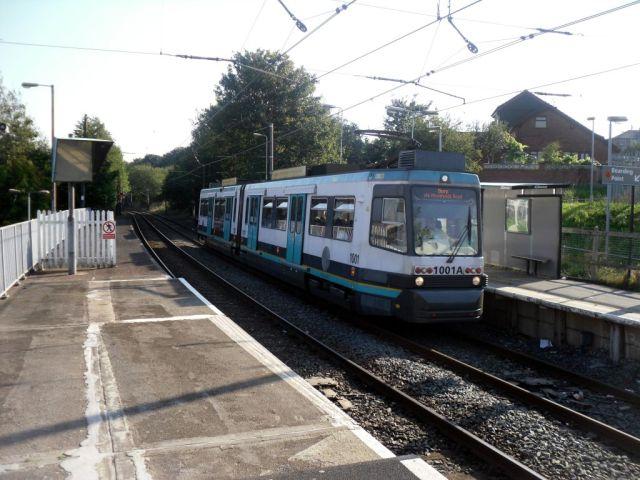 Photo of Metrolink tram at Woodlands Road