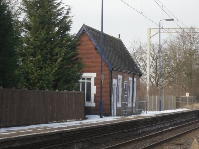 Photo of Disused Waiting Room at Barlaston Station