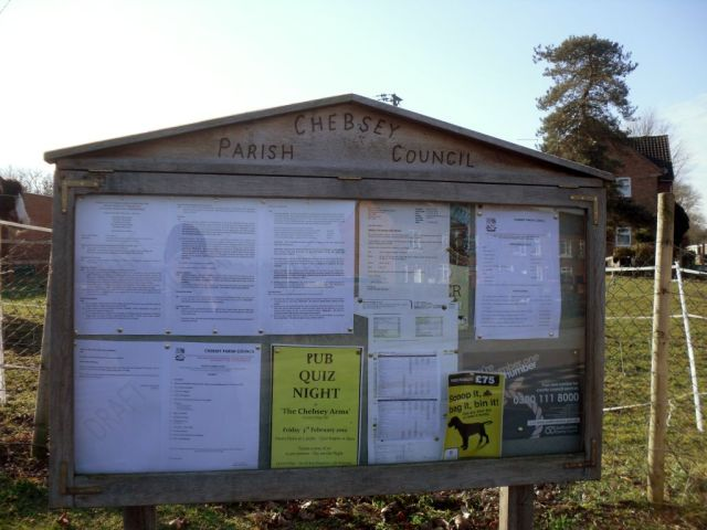 Photo of Noticeboard for Norton Bridge Parish Council
