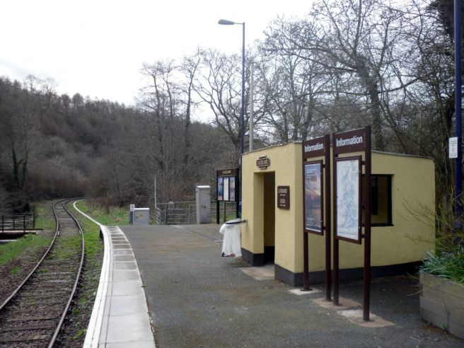 Photo of Causeland station
