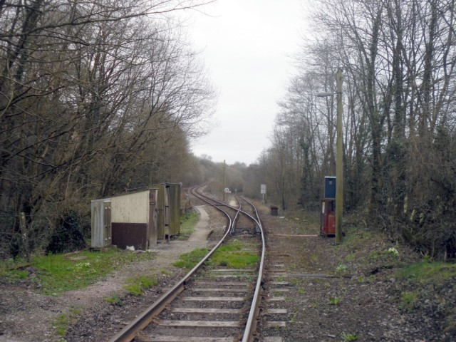 Photo of the junction at Coombe Junction