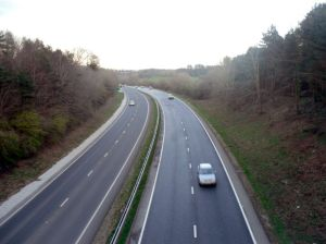 Photo of A38 dual carriageway
