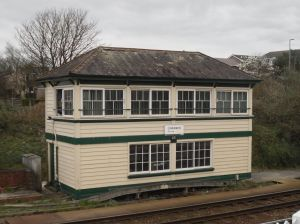 Photo of signalbox at Liskeard