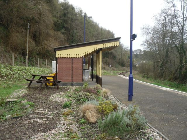 Photo of Sandplace station platform