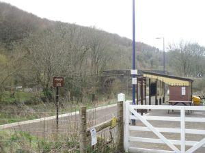 Photo of entrance to Sandplace station