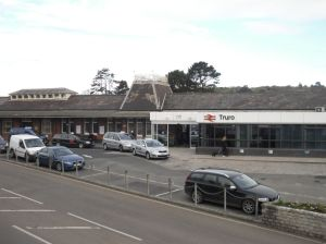Truro station frontage