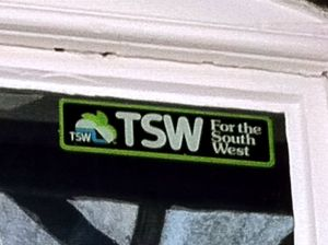 TSW for the South West sticker