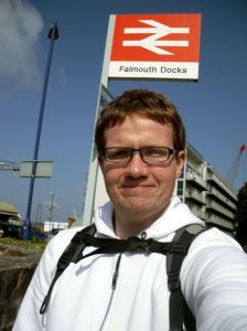 Robert at Falmouth Docks