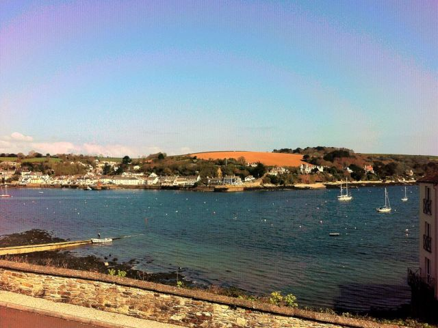 Photo of view from Falmouth town