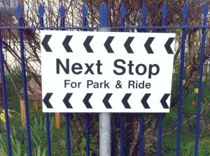 Next stop for Park and Ride