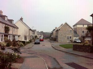 Housing Estate near Lelant Saltings