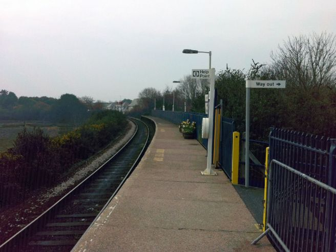 Lelant Saltings station