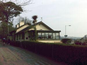 Former Lelant station building
