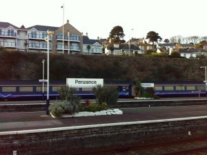Penzance station platforms