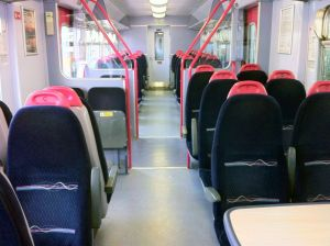 Interior of Empty Sprinter
