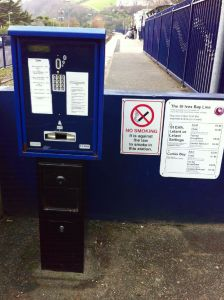 St Ives Ticket Machine