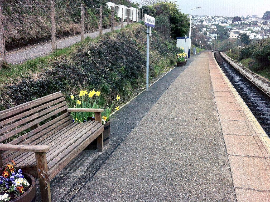 Carbis Bay Train Station Car Park