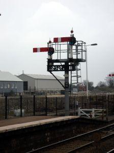 Semaphore signals at St Erth
