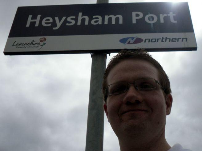 Robert at Heysham Port