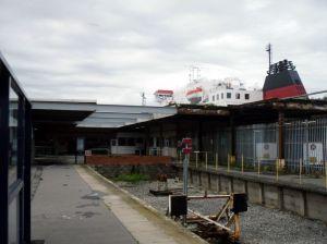 Heysham Port terminal buildings