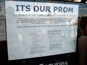 """ITS OUR PROM"" notice"