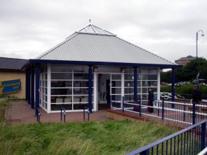Morecambe Station ticket office