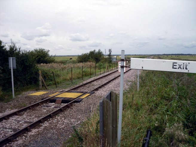 Berney Arms Station exit