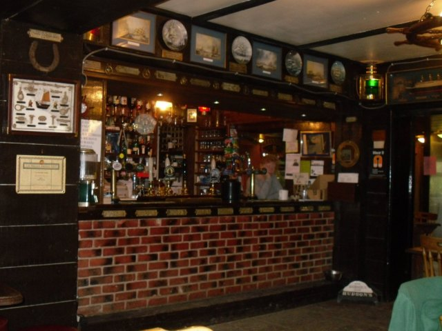 Inside Berney Arms Pub