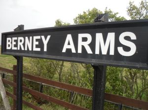 Berney Arms station sign
