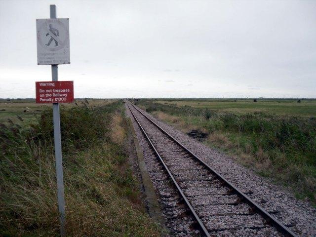Berney Arms tracks