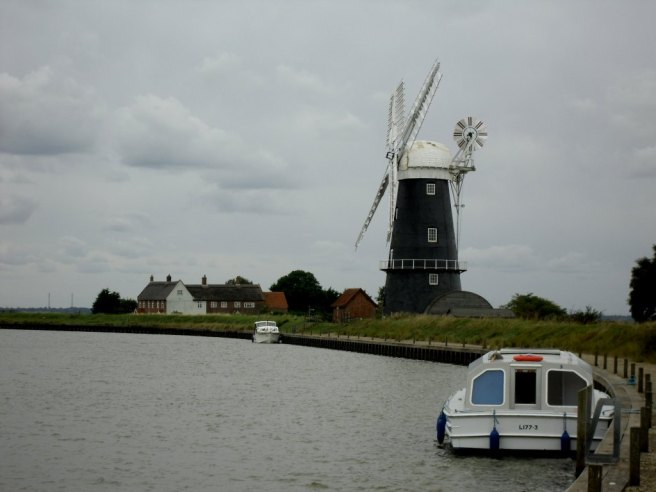 Windmill and River Yare