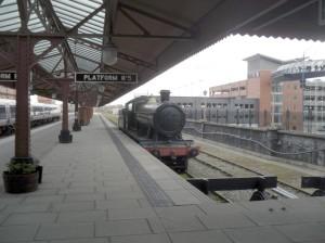 GWR steam loco at Moor Street