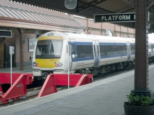 Chiltern DMU at Moor Street