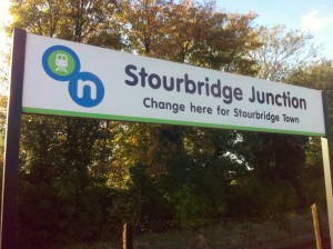 Stourbridge Junction sign