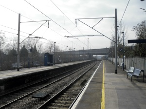 Angel Road station