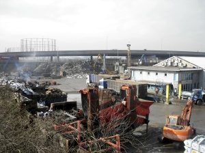Scrapyard near Angel Road