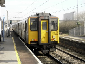 Greater Anglia train at Angel Road